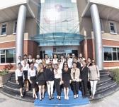 Sivil Havacılık Kabin Hizmetleri Öğrencileri'nin Mockup Eğitimi