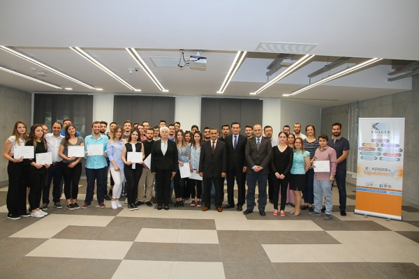 ENTREPRENEURSHIP CERTIFICATES TO IUE STUDENTS