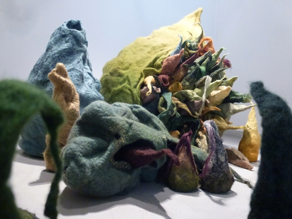'WOMAN' EXPRESSED BY FELT