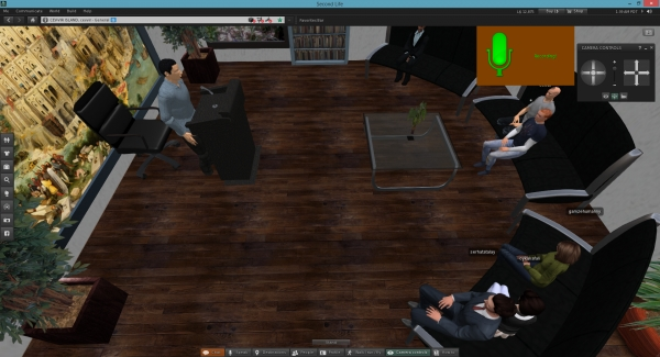 IUE Department of English Translation And Interpreting adds a new dimension to interpreting with 3D virtual worlds
