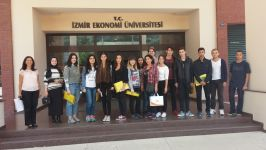 Izmir University of Economics- Faculty of Arts and Science, Department of English Translation and Interpretation continues to bring high school students together at translation workshops, as part of the activities they organize each year.