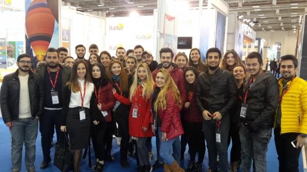 Turizm ve Otel İşletmeciliği Travel Turkey Fuarı'nda