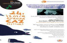 Avrupa Caz Festivali'nde Bölümümüzden Video Performansı