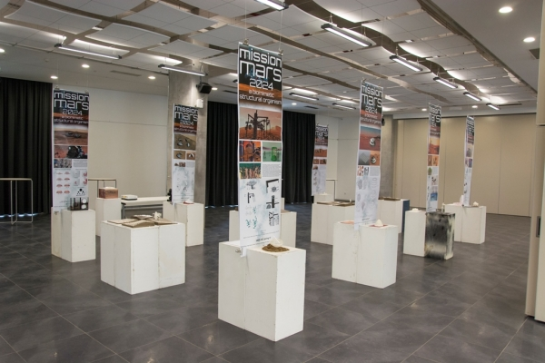 MISSION MARS 2024 WORKSHOP EXHIBITION OPENED