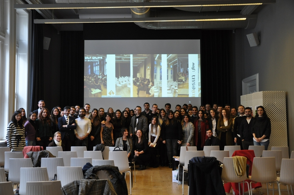 SALT GALATA HOSTED IUE ARCHITECTURE SENIOR STUDENTS