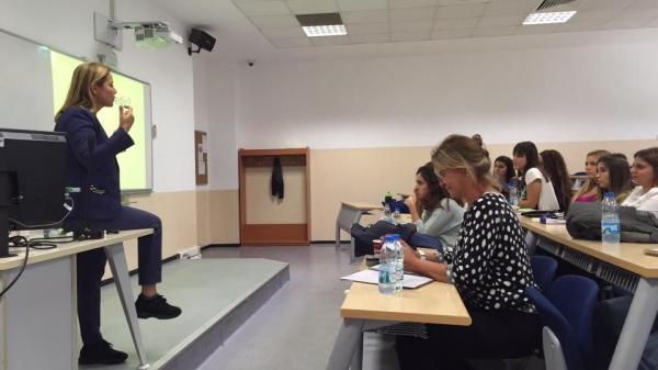 Fatoş Karahasan İletişim Kampanyası Tasarımı Dersinin Konuğu Oldu