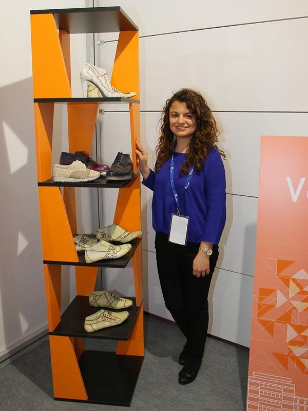 SHOEXPO2017 Ayakkabı Fuarında Ekonomi'li Gençler de Stant Açtı