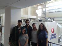 Izmir Ekonomi Üniversitesi Havacılık ve Uzay Mühendisliği Bölümü Öğrencileri THY Uçak Simülatörü Ziyareti.
