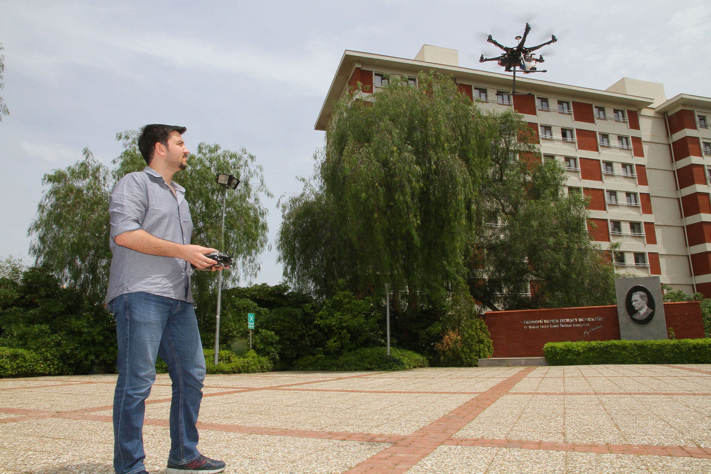USING DRONE TECHNOLOGY FOR HEAT LOSS