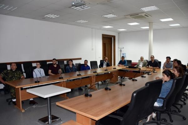 Öğrencilerimizin NATO Kara Komutanlığı Ziyareti