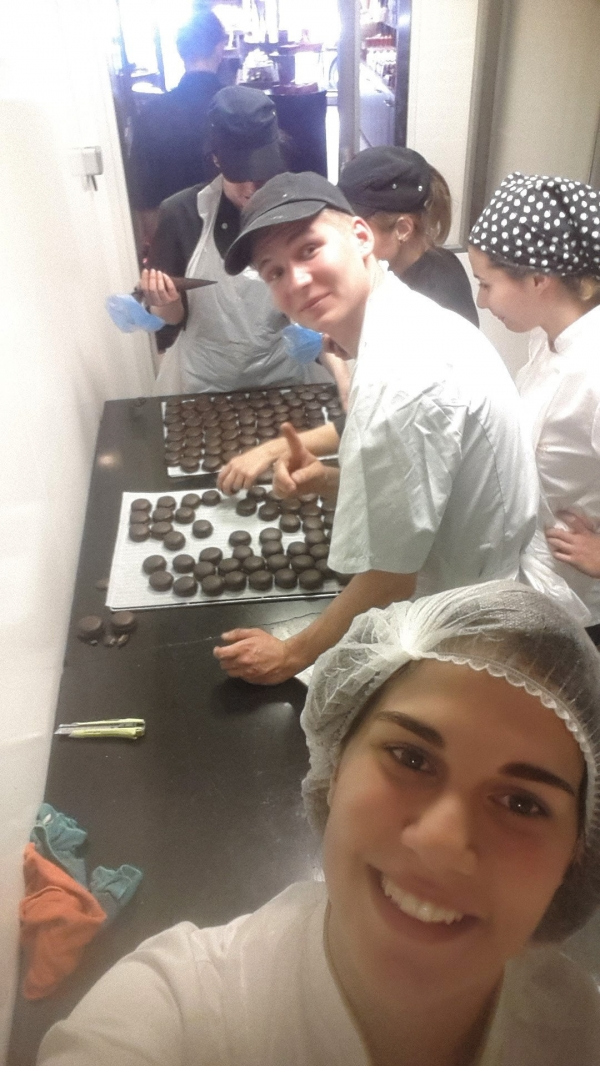 IUE CHEFS' EXPERIENCE IN FRANCE