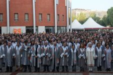 EMOTIONAL CEREMONY AT IZMIR UNIVERSITY OF ECONOMICS