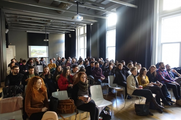 IUE ARCHITECTURE – SALT GALATA 3RD MEETING