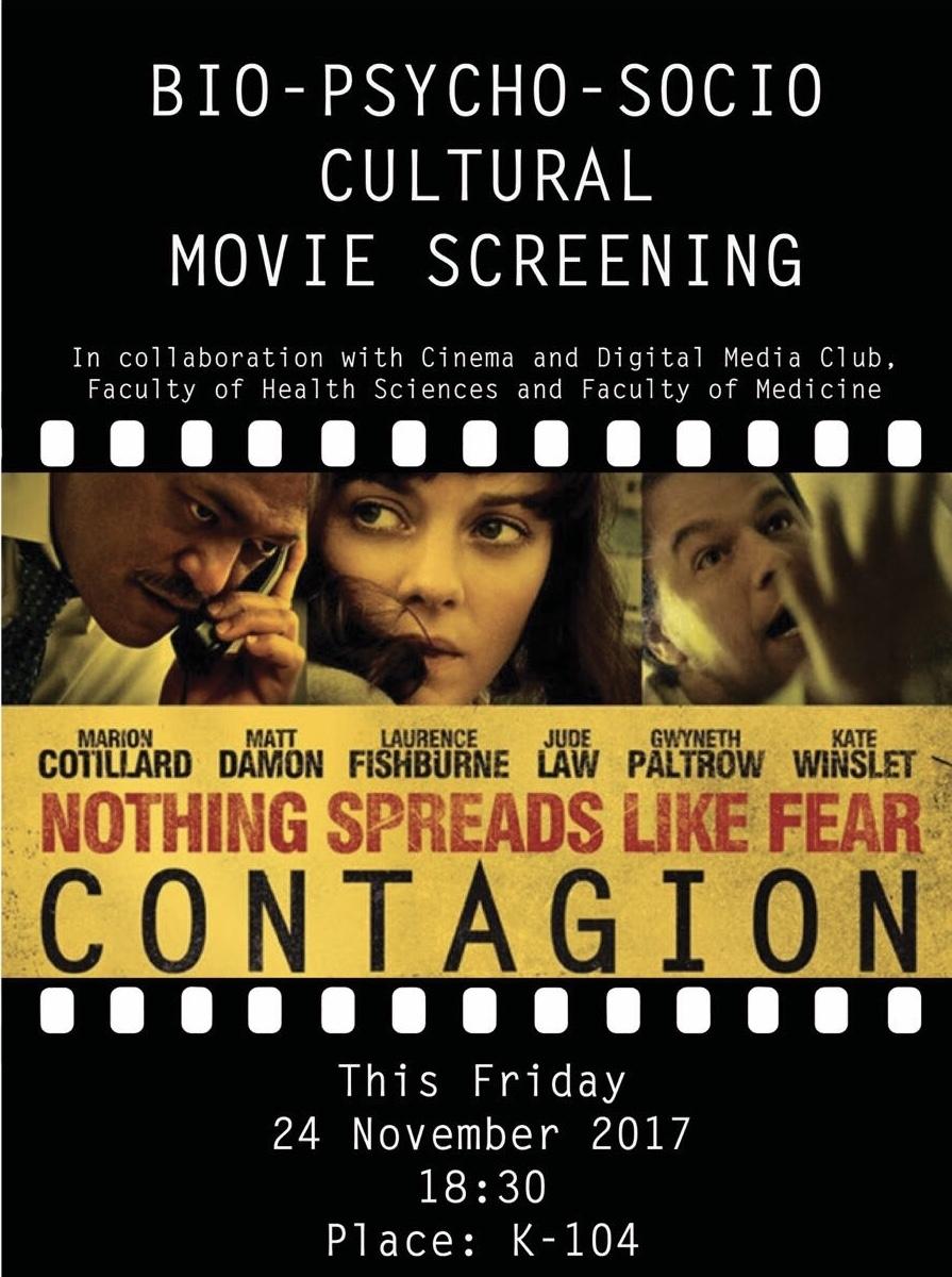 Sinema ve Medya Kulübü Sağlık Bilimleri ve Tıp Fakültesi ile Ortak Film Gecesi Düzenledi