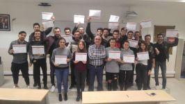 İş Sağlığı ve Güvenliği Programı Öğrencileri İç Denetçi Sertifikalarını Aldılar