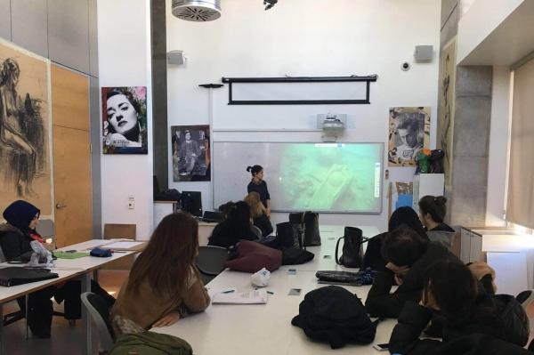 Dalış Eğitmeni-Ar.Gör. Nermin Özger 'Sualtı Kültürel Mirası' İsimli Sunumuyla Mimari Restorasyon Programı Öğrencilerinin Konuğu Oldu
