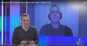 Sıtkı Egeli appeared in Artı TV, analyzing advanced weapon systems used in Syrian conflict.
