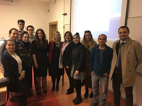 """CONFERENCE ENTITLED """"CAREER OPPORTUNITIES FOR YOUNG RESEARCHERS"""" BY DR. BAHAR USLU (MD-PHD) HAS BEEN SUCCESSFULLY COMPLETED"""