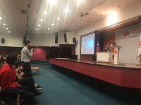 Usta Oyuncu Cezmi Baskın Radyo ve Televizyon Programcılığı Öğrencileriyle Buluştu
