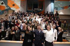 THY Apron Eğitim Şefi Sn Serdal Şentürk Öğrencilerimiz ile Buluştu