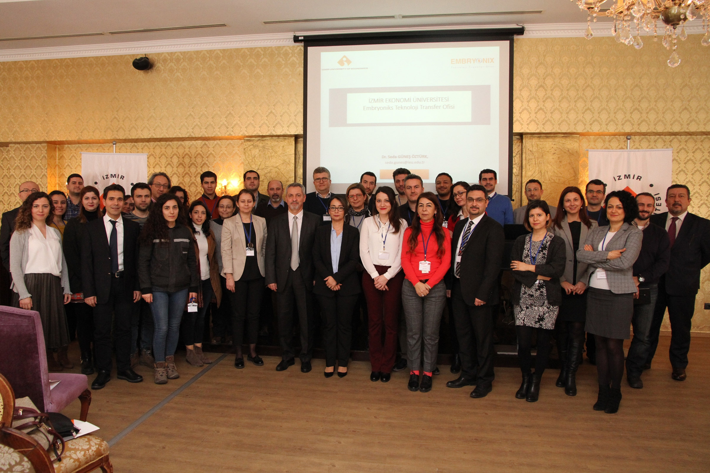 R&D CENTERS CAME TOGETHER AT IZMIR UNIVERSITY OF ECONOMICS FOR THE FIRST TIME