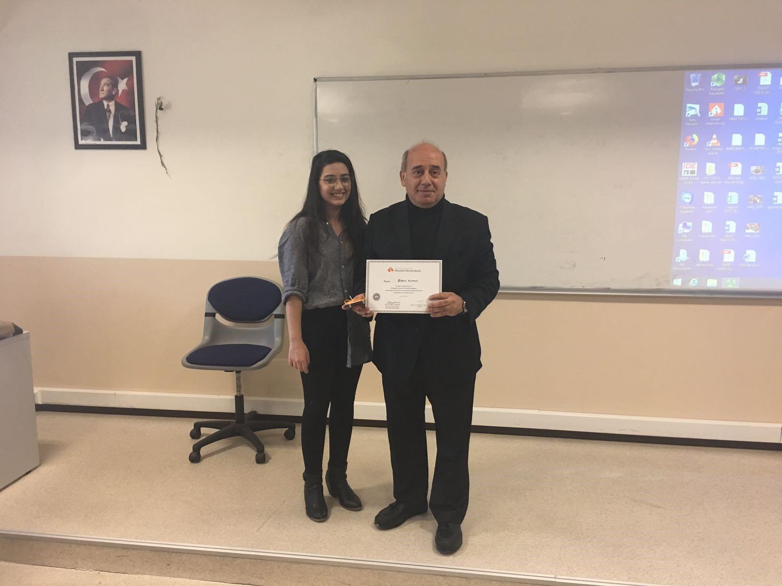 Usta Gazeteci Bülent Katarcı Radyo ve Televizyon Programı Öğrencileri ile Buluştu