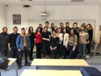 Kordon Oteli Müdürleri Turizmci Öğrencilerle Bir Araya Geldi