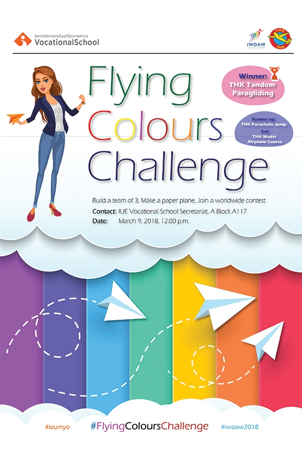 Dünya Havacı Kadınlar Haftasını #FlyingColoursChallenge Yarışması İle Kutluyoruz