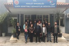 MONITORING VISIT BY IUE SOCIOLOGISTS