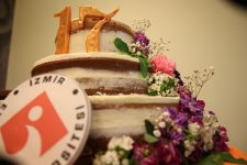 CELEBRATION CAKE FOR IUE 17. ANNIVERSARY OF FOUNDATION FROM CAM