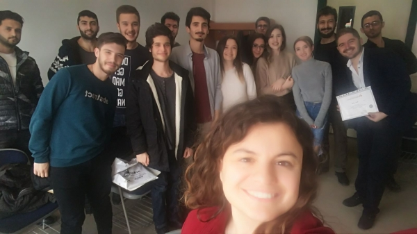 """Laboratory Technology Program welcomed Food Engineer Resul Süleli within the scope of """"Student Consulting Experts"""""""