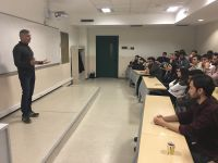 Video Prodüksiyon Direktörü Osman Korkmaz Radyo ve Televizyon Programcılığı Programı Öğrencileri ile Buluştu