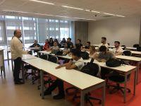Usta Belgesel Yönetmeni Tahsin İşbilen Radyo ve Televizyon Programcılığı Programı Öğrencileri ile Buluştu