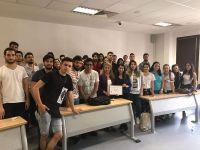 Radyo ve Televizyon Programcılığı Öğrencileri Haber Türk Televizyon Temsilcisi Gülçin Ayçe İle Bir Araya Geldi