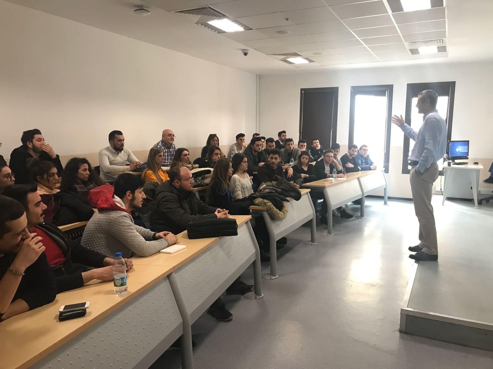 İş Sağlığı Programı Öğrencileri Tüprag Madencilik İSG Uzmanı Göksel Alpaslan ile Bir Araya Geldi