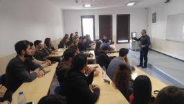 İş Sağlığı Programı Öğrencileri İnşaat Mühendisi M. İsmail Caran ile Bir Araya Geldi
