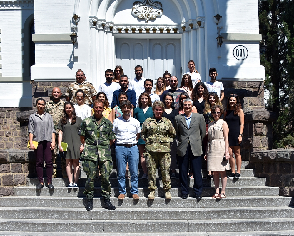 Our Students Visit NATO Land Command