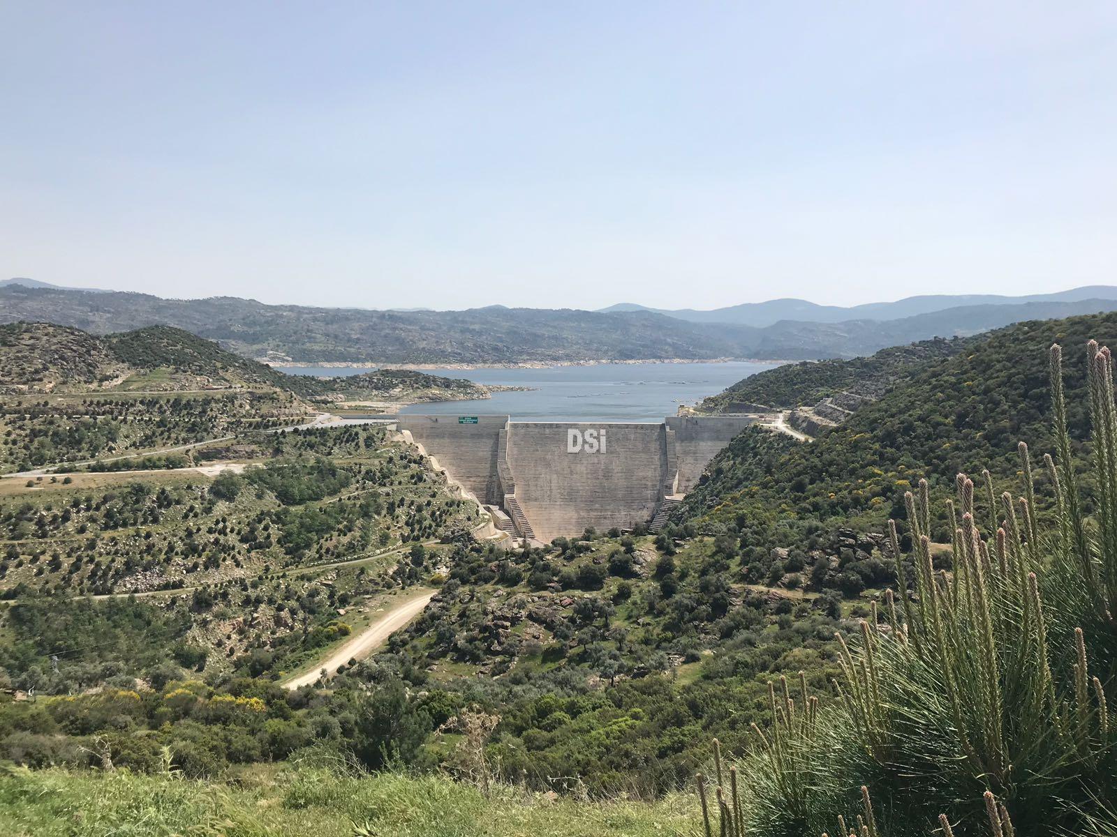 Çine Barajı Teknik Gezisi