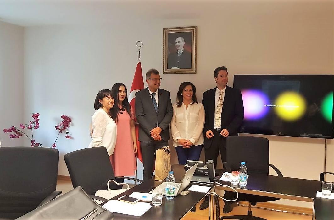 AB-Türkiye-Almanya ilişkileri üzerine bir yuvarlak masa toplantısı