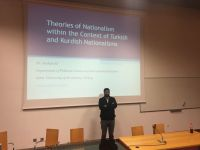 Serhun AL gave a lecture about Theories of Nationalism at University of Ljubljana