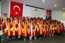 GRADUATION OF MULTINATIONAL STUDENTS OF ALL AGES