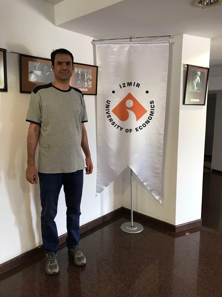 Yazd Üniversitesi İstatistik Bölümü'nden Prof. Dr. Hamzeh Torabi, misafir öğretim üyesi olarak ortak çalışmalara başladı.