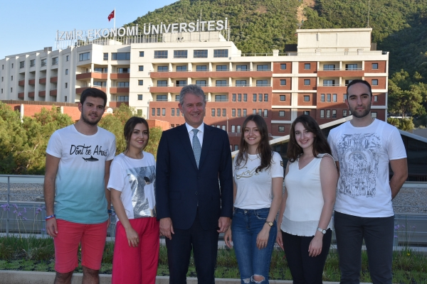 IZMIR UNIVERSITY OF ECONOMICS IS THE RIGHT CHOICE TO SHAPE YOUR FUTURE