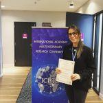 Doç. Dr. Berna Aydoğan Hollanda'da Bölümümüzü Temsil Etti