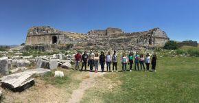 Mimari Restorasyon 2. Sınıf Öğrencileri Miletos Alan Gezisini Gerçekleştirdi