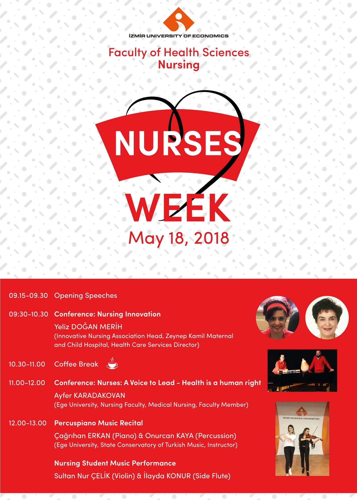 12-18 MAYIS FLORENCE NIGHTINGALE HEMŞİRELİK HAFTASI ETKİNLİĞİ