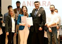 Falling Walls Lab Ankara 2018 1st Place Prize to Our Graduate