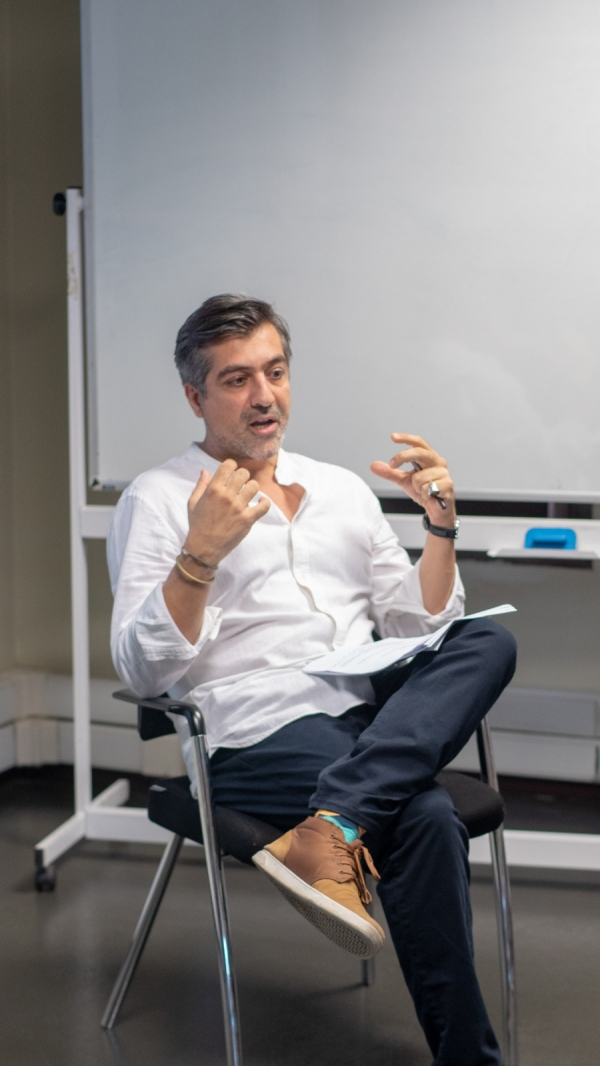 Cinema and Digital Media department hosted assistant director and producer Atilla Salih Yücer