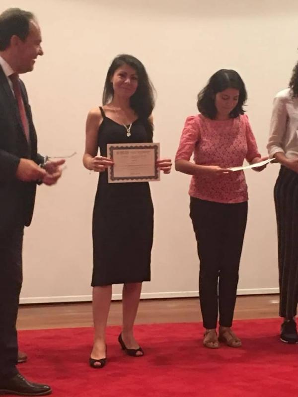 FEBS-ECM 2018 ADVANCED COURSE IN PATRAS, GREECE AND A POSTER AWARD FOR IEU