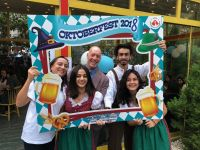 Fantastic images from 2018-2019 academic year Oktoberfest celebration...